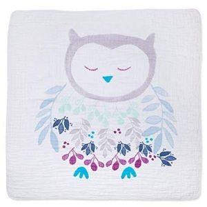 Aden + Anais Owl Muslin Dream Blanket